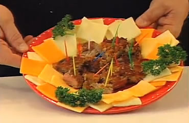 Venison Steak in Ritz Crackers
