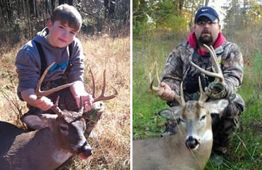 Nephew's 1st Buck Leads to Uncle's Bruiser