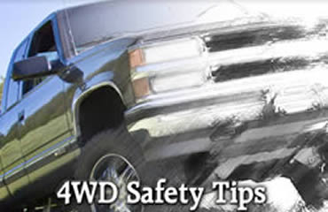 4WD Safety Tips