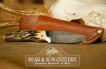 Bear & Son Cutlery Official Knife Sponsor of Buckmasters