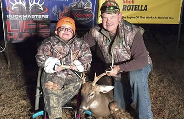Life Hunt participants complete buck-sweep!