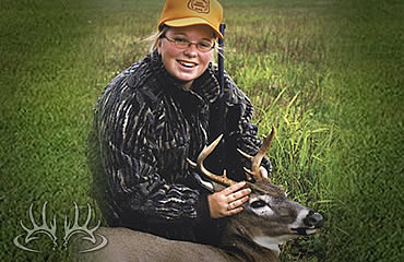 Melissa's First Buck