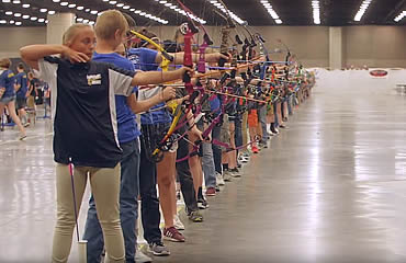Over half a million arrows fly at 2019 Eastern NASP Nationals