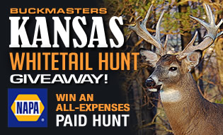 Kansas Whitetail Hunt Giveaway