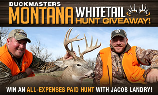 Montana Whitetail Hunt Giveaway!