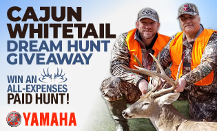 Cajun Whitetail Dream Hunt Giveaway!