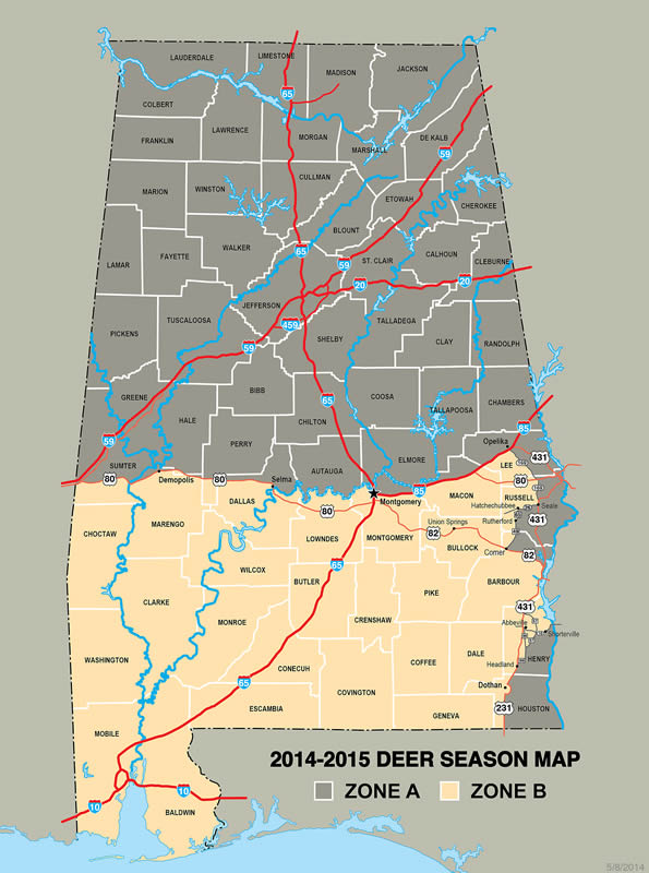 Alabama Rut Map Unraveling Alabama's Rut(s) Alabama Rut Map