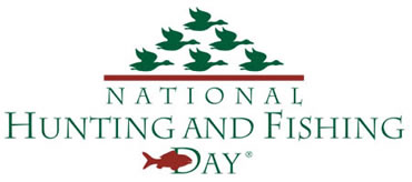 Take someone hunting or fishing Sept. 28